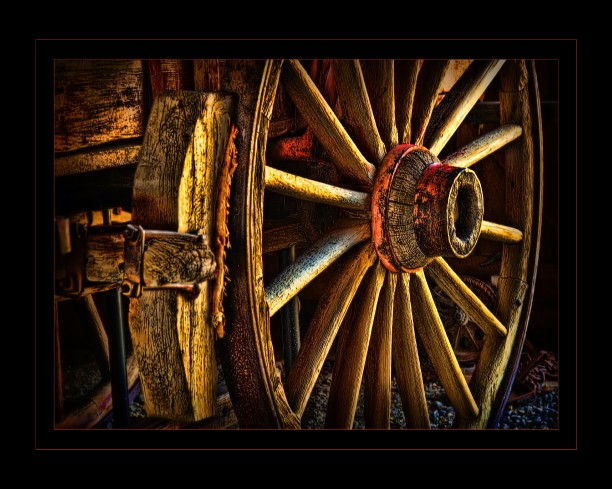 Wagon Wheel, Historic,