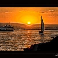 Scenics, Sail Boat, San Diego, Harbor