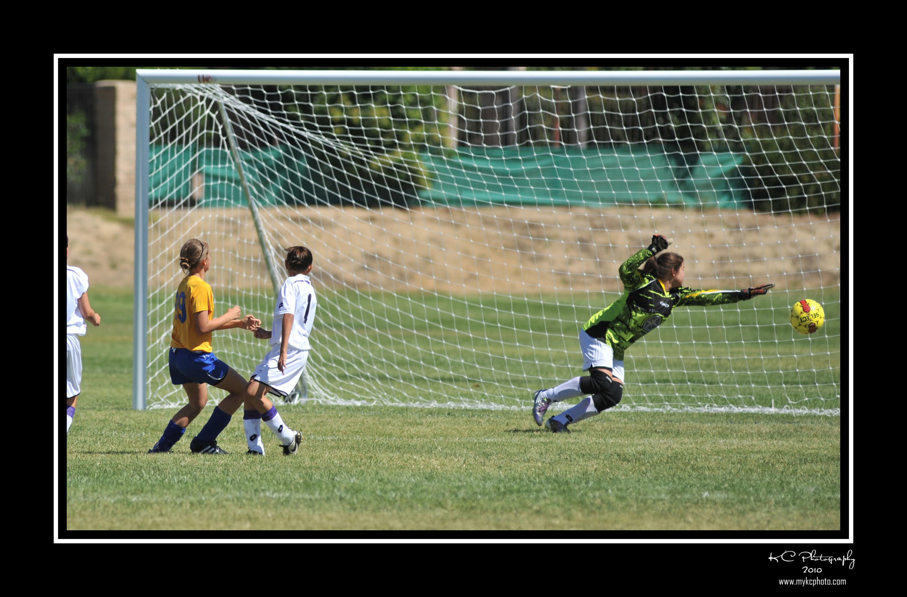 Soccer Action Shot