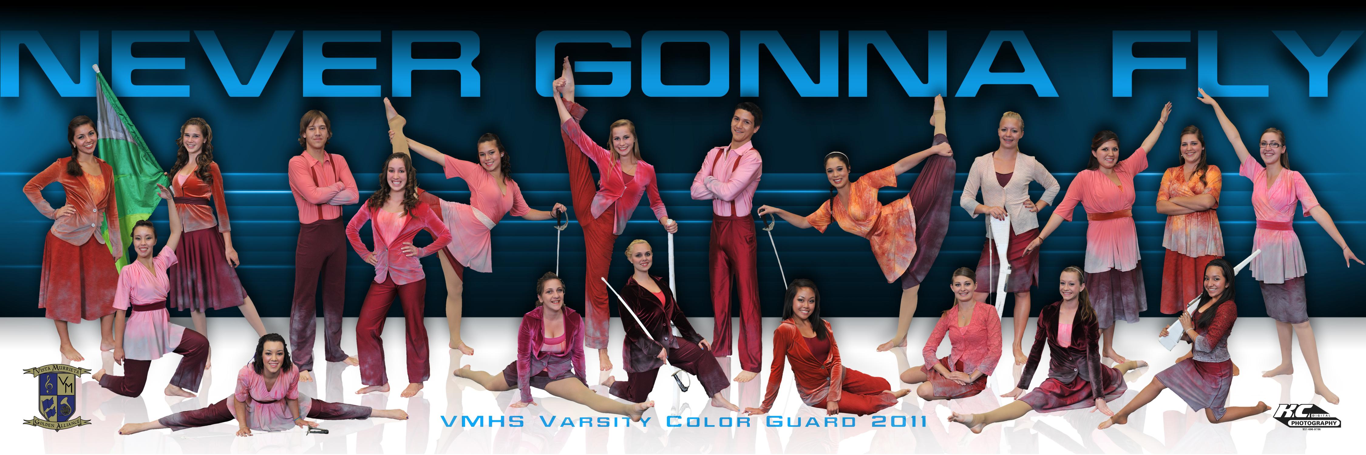 VMHS Varsity Guard Panorama